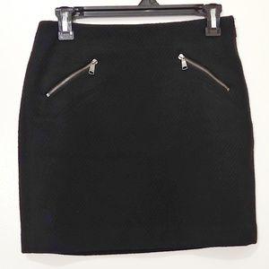 Banana Republic Ladies Wool Mini Skirt - Size 0